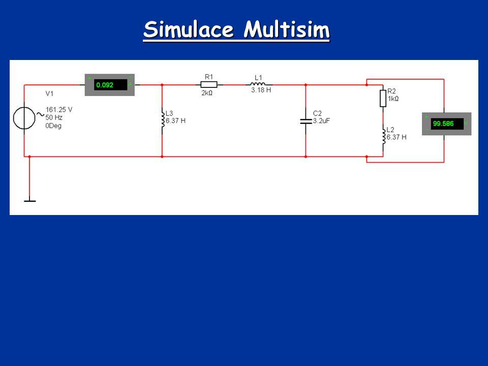 Simulace Multisim
