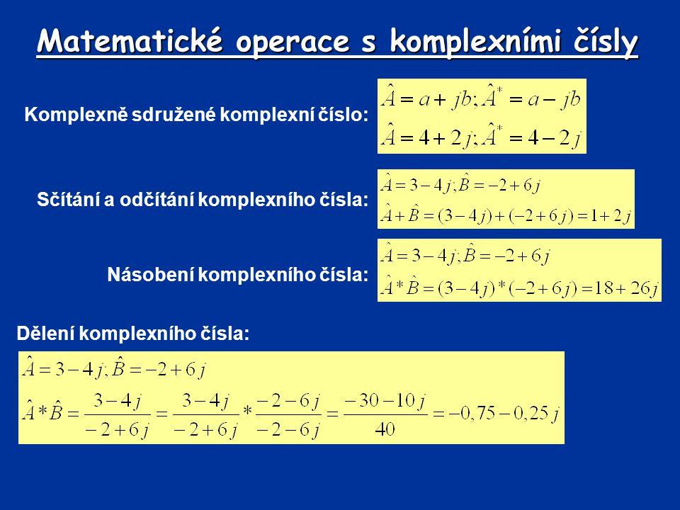 Matematické operace s komplexními čísly