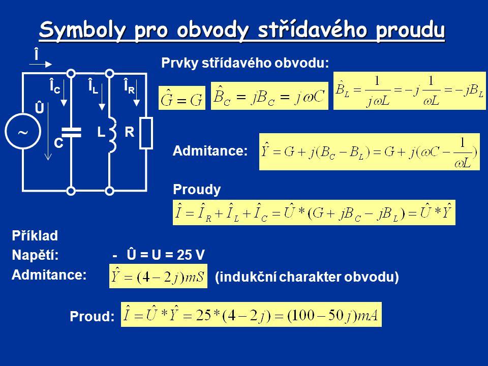Symboly pro obvody střídavého proudu