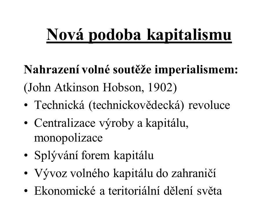 Nová podoba kapitalismu
