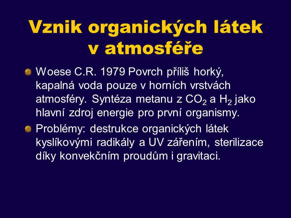 Vznik organických látek v atmosféře