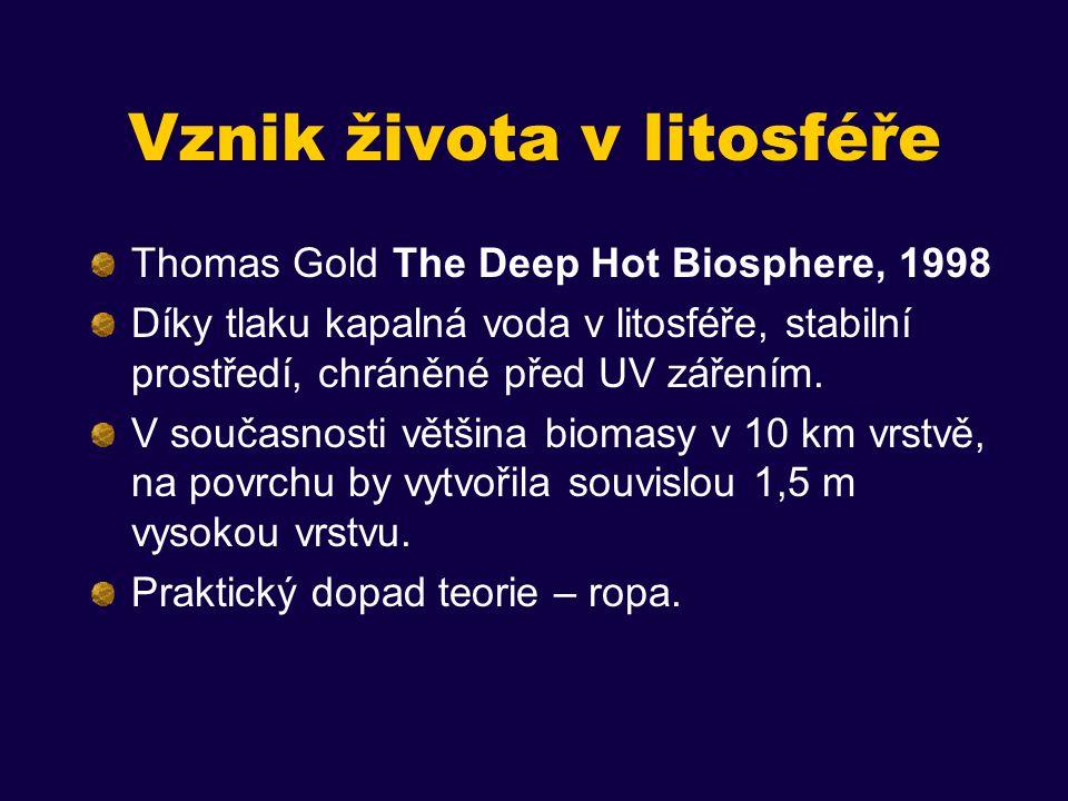 Vznik života v litosféře