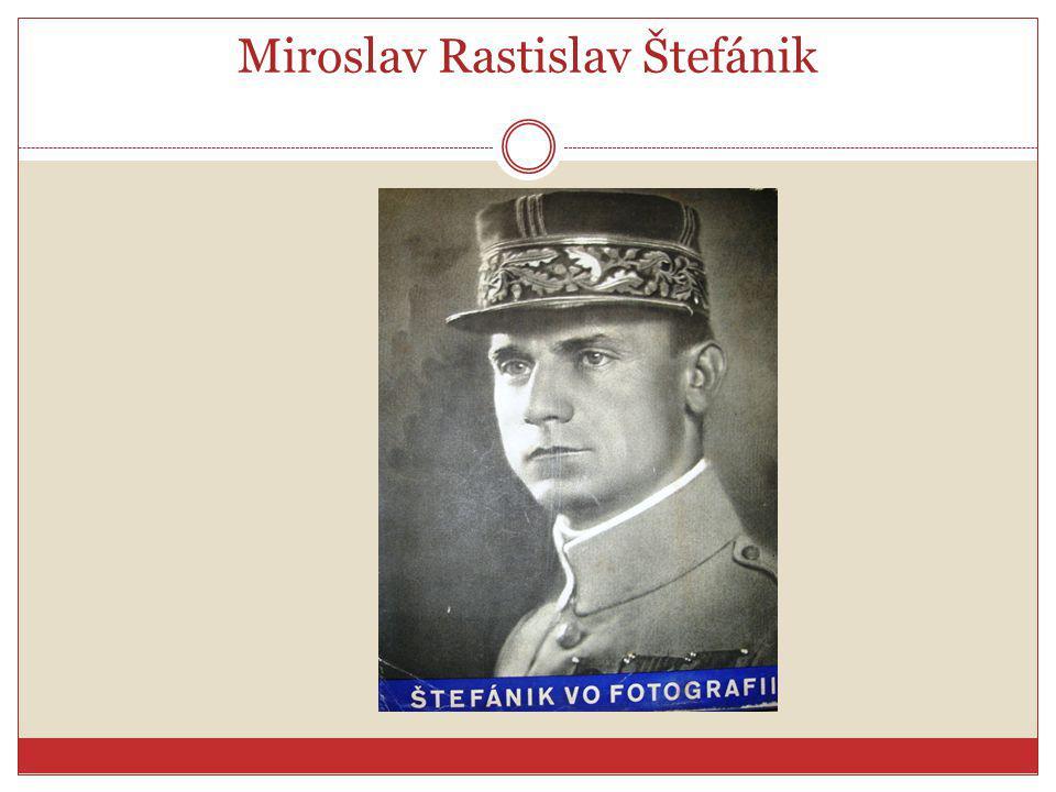 Miroslav Rastislav Štefánik