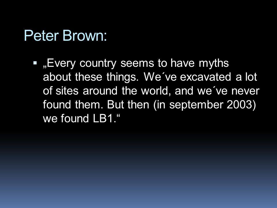 Peter Brown: