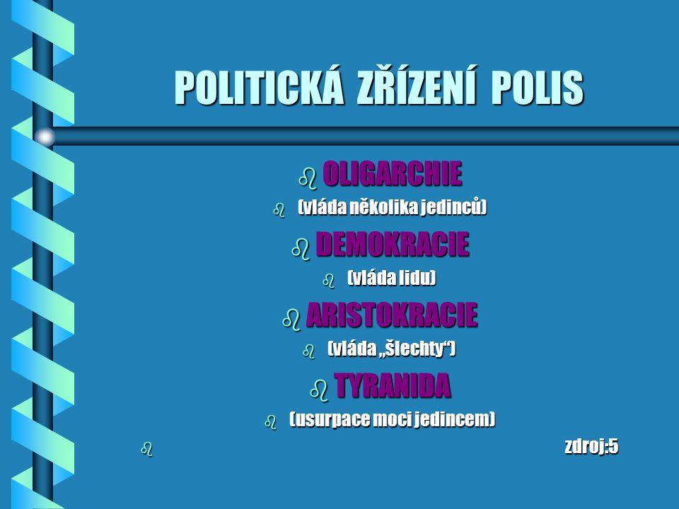 POLITICKÁ ZŘÍZENÍ POLIS
