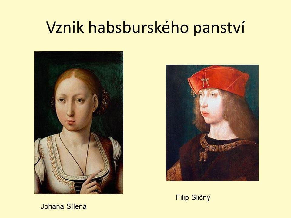 Vznik habsburského panství