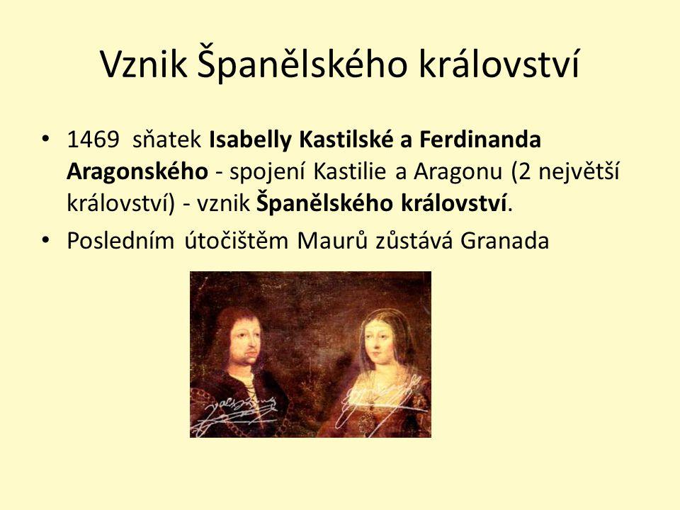Vznik Španělského království