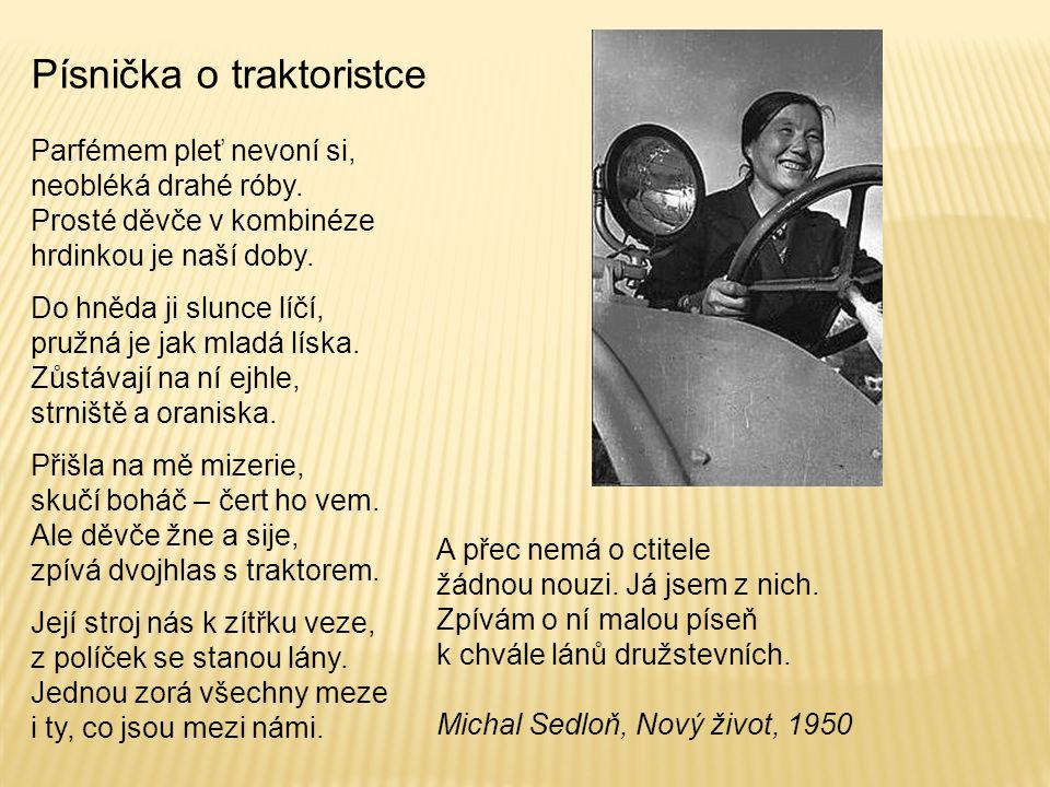 Písnička o traktoristce