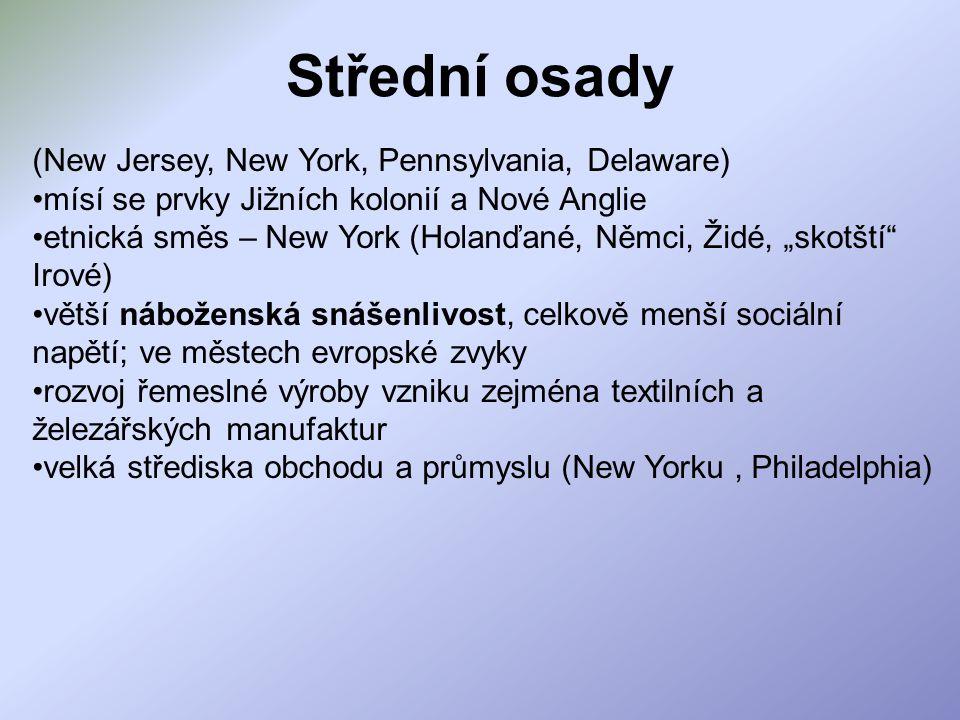 Střední osady (New Jersey, New York, Pennsylvania, Delaware)