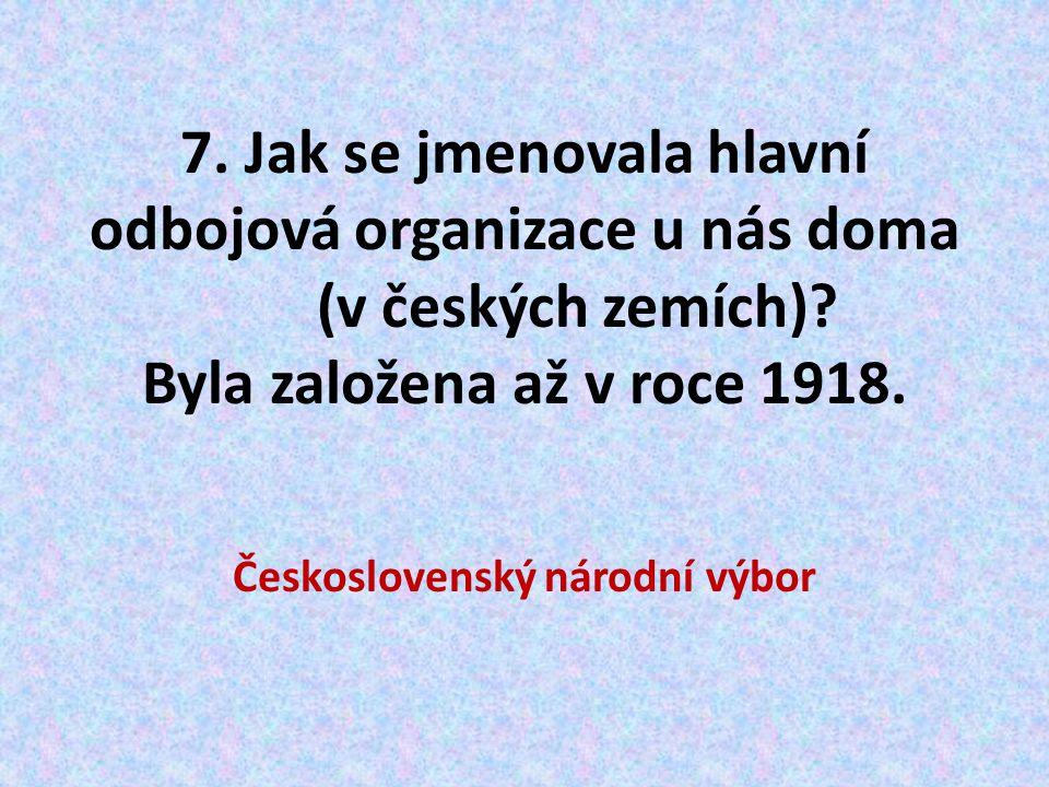 Československý národní výbor