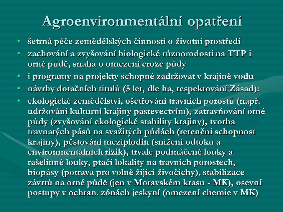 Agroenvironmentální opatření