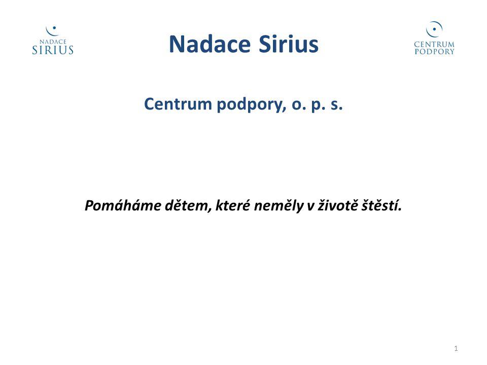 Nadace Sirius Centrum podpory, o. p. s.