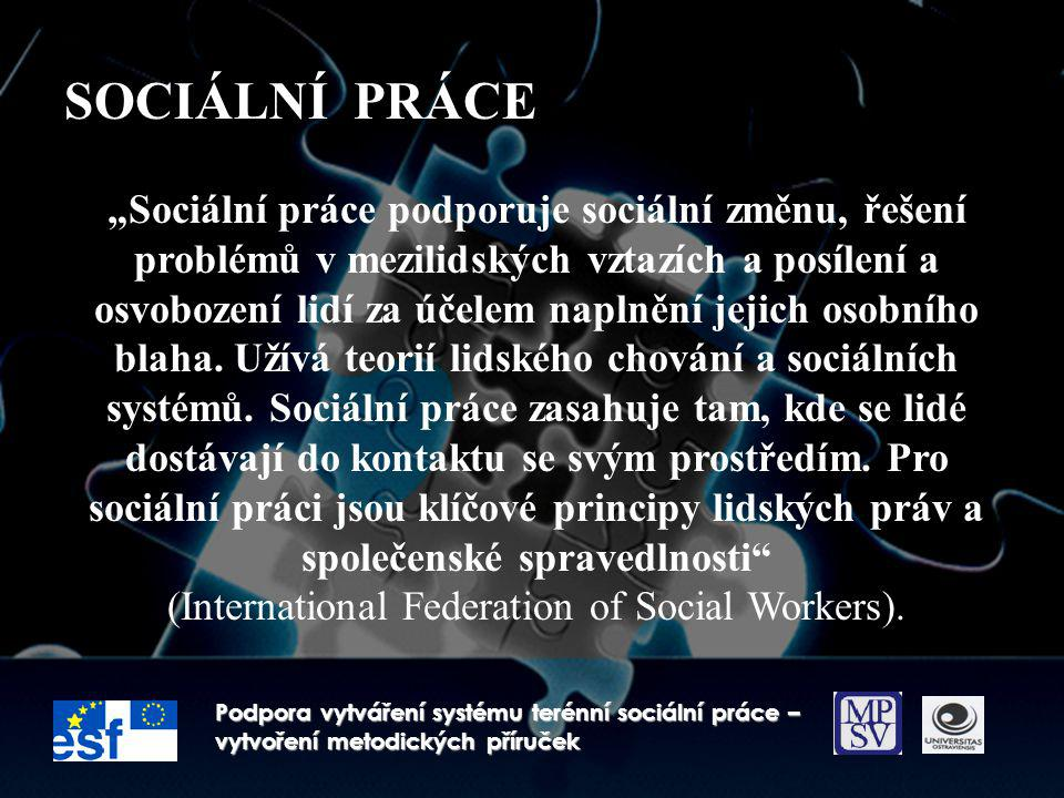 (International Federation of Social Workers).