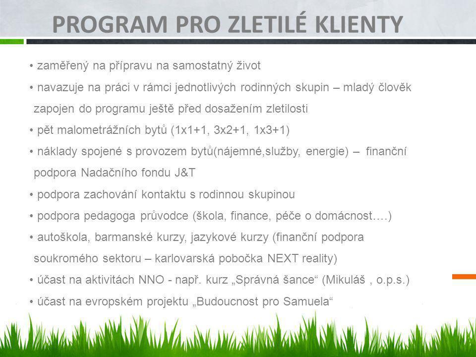 Program pro zletilé klienty