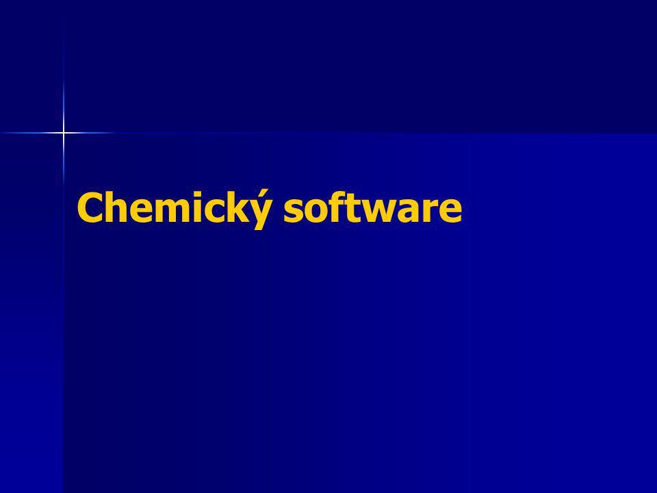ICT ve výuce chemie - Grafický software