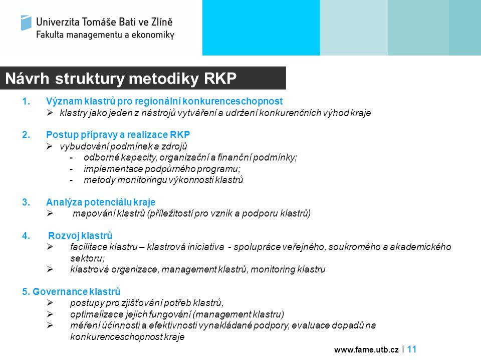 Návrh struktury metodiky RKP