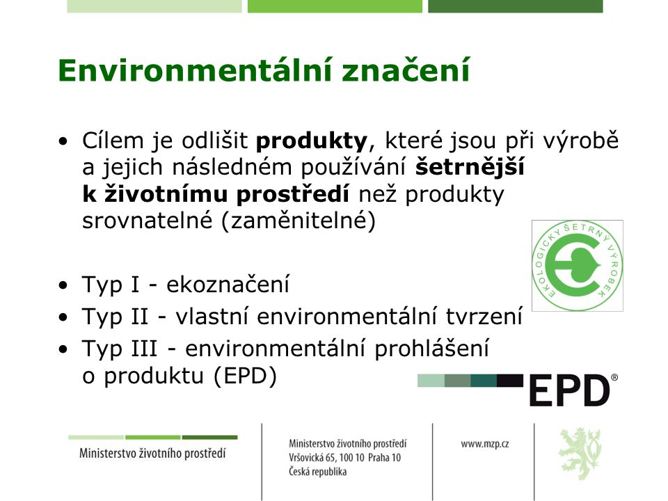 Environmentální značení