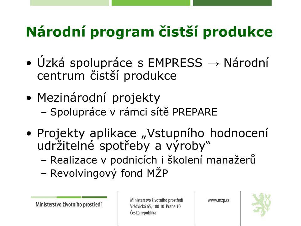 Národní program čistší produkce