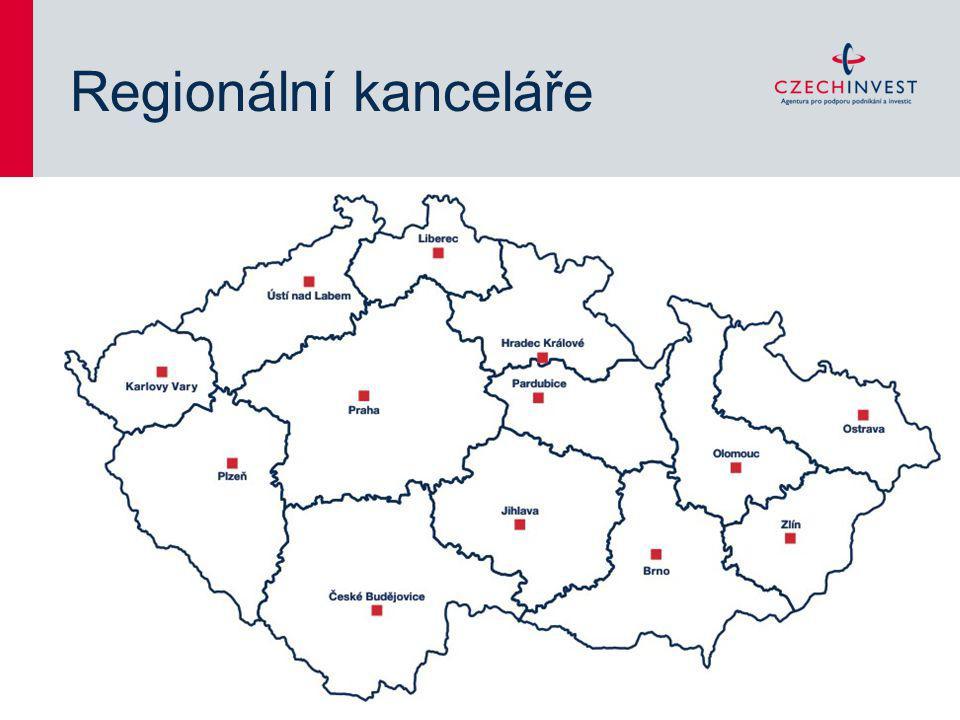 Regionální kanceláře Aktualizace: Duben 2011 Autor: Dubský/Hartmanová