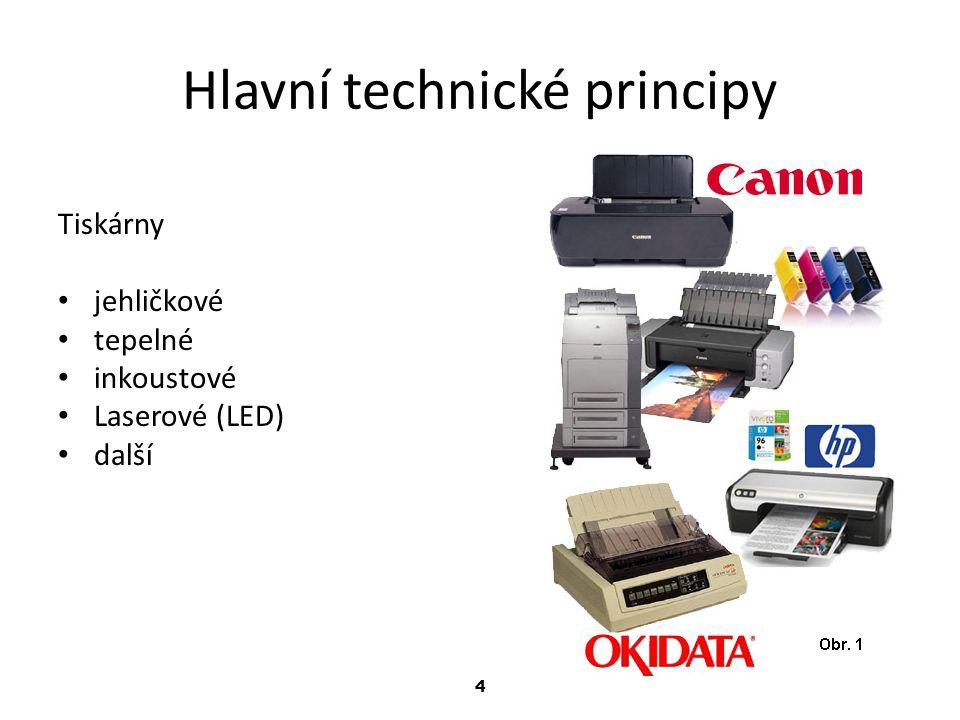 Hlavní technické principy