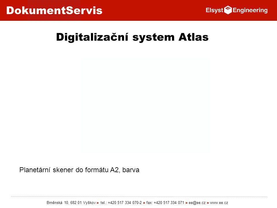 Digitalizační system Atlas