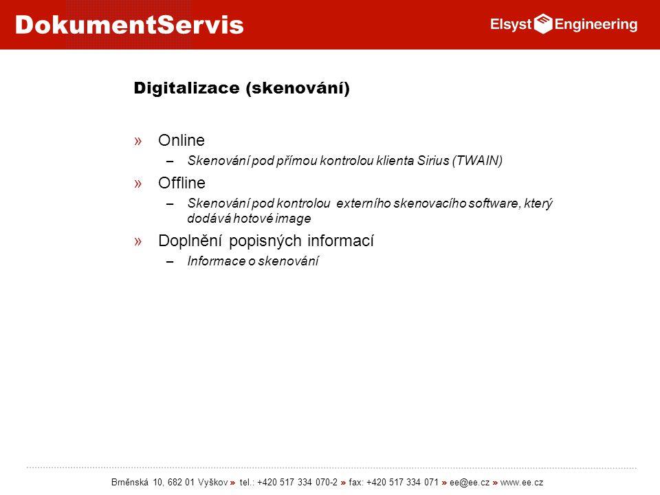 Digitalizace (skenování)