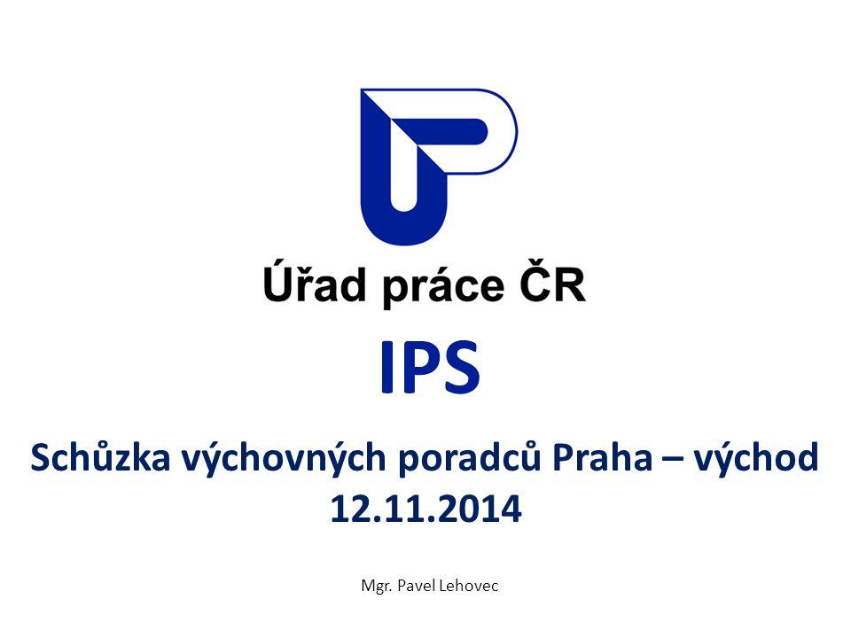 Schůzka výchovných poradců Praha – východ 12.11.2014