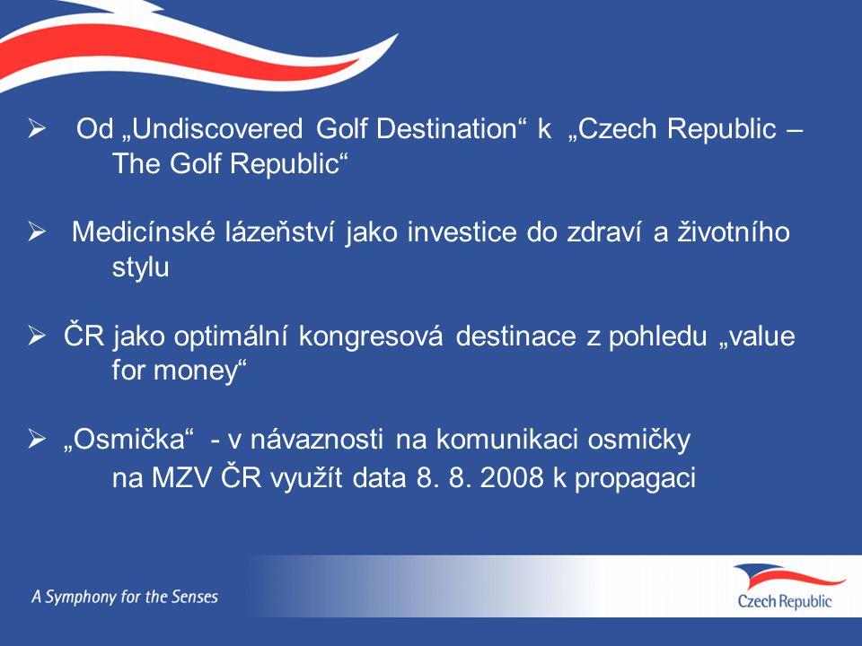 "Od ""Undiscovered Golf Destination k ""Czech Republic –"