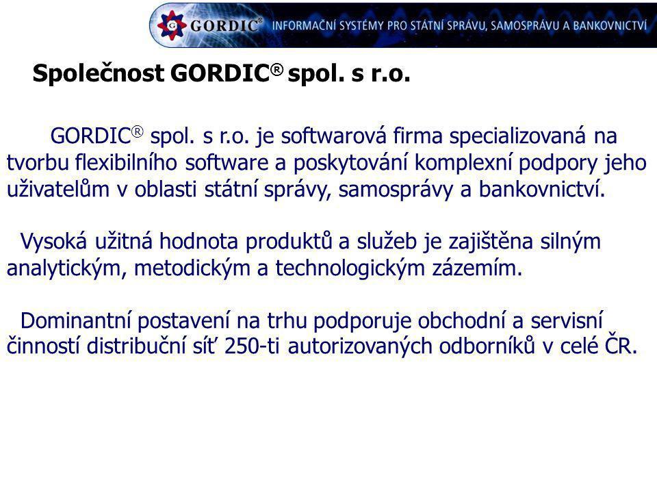 Společnost GORDIC® spol. s r.o.
