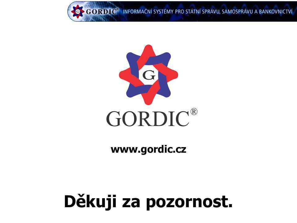 www.gordic.cz Děkuji za pozornost.