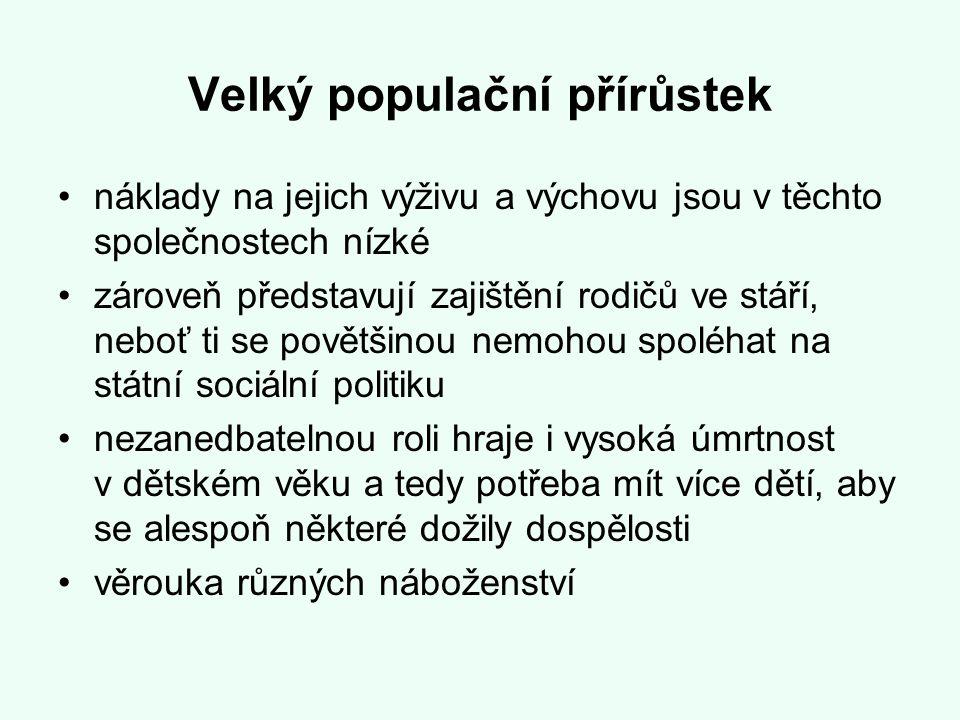 Velký populační přírůstek