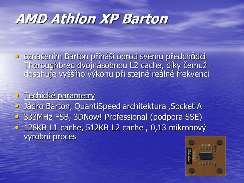 AMD Athlon XP Barton