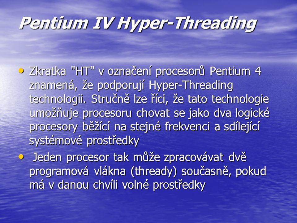 Pentium IV Hyper-Threading