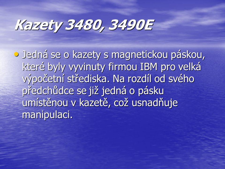 Kazety 3480, 3490E