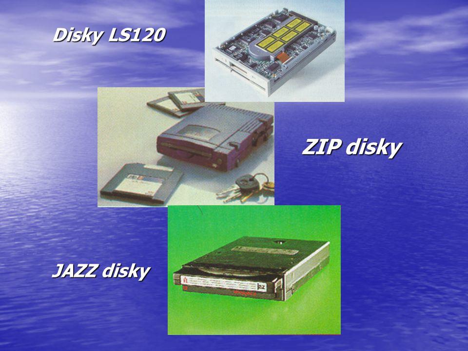 Disky LS120 JAZZ disky ZIP disky