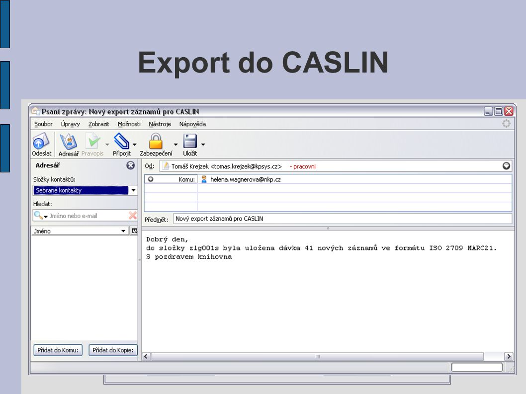 Export do CASLIN