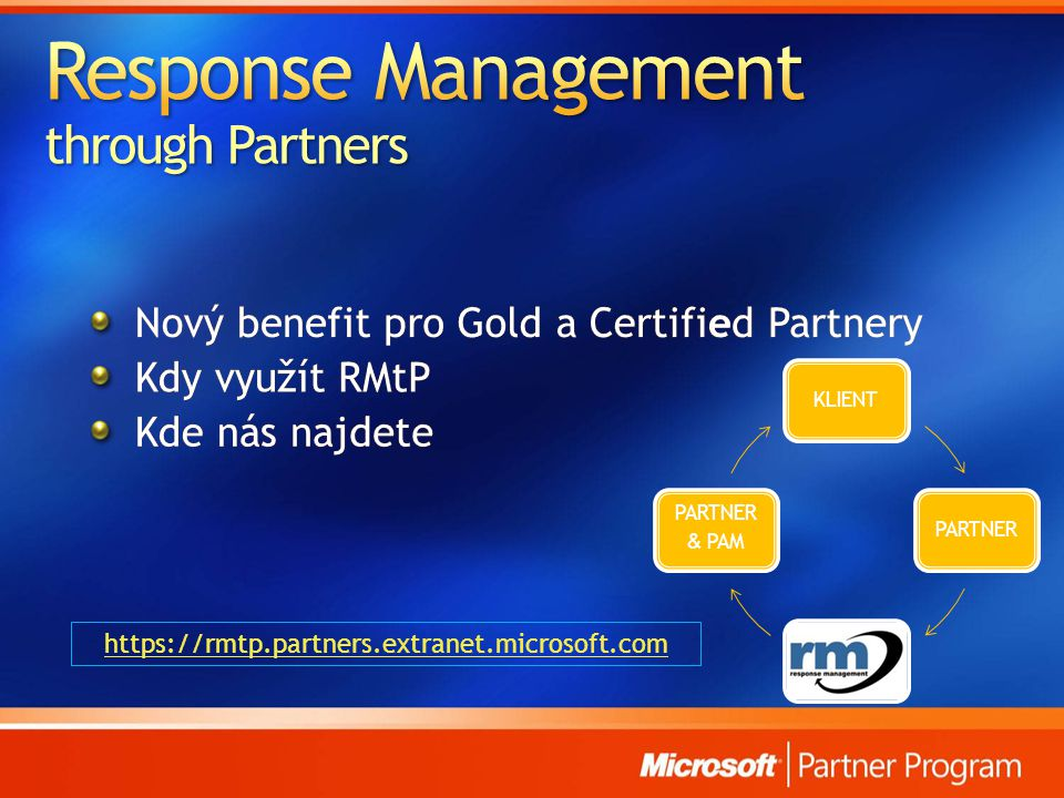 Response Management through Partners