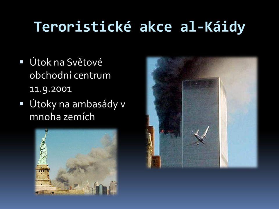 Teroristické akce al-Káidy