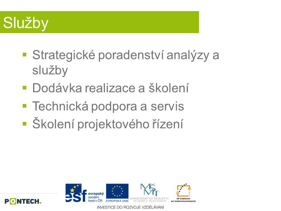 Služby Strategické poradenství analýzy a služby