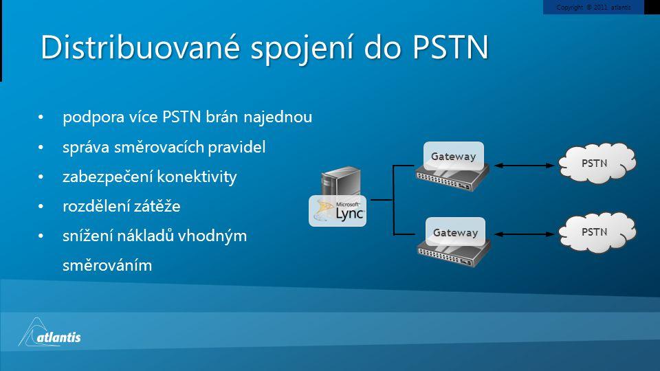 Distribuované spojení do PSTN