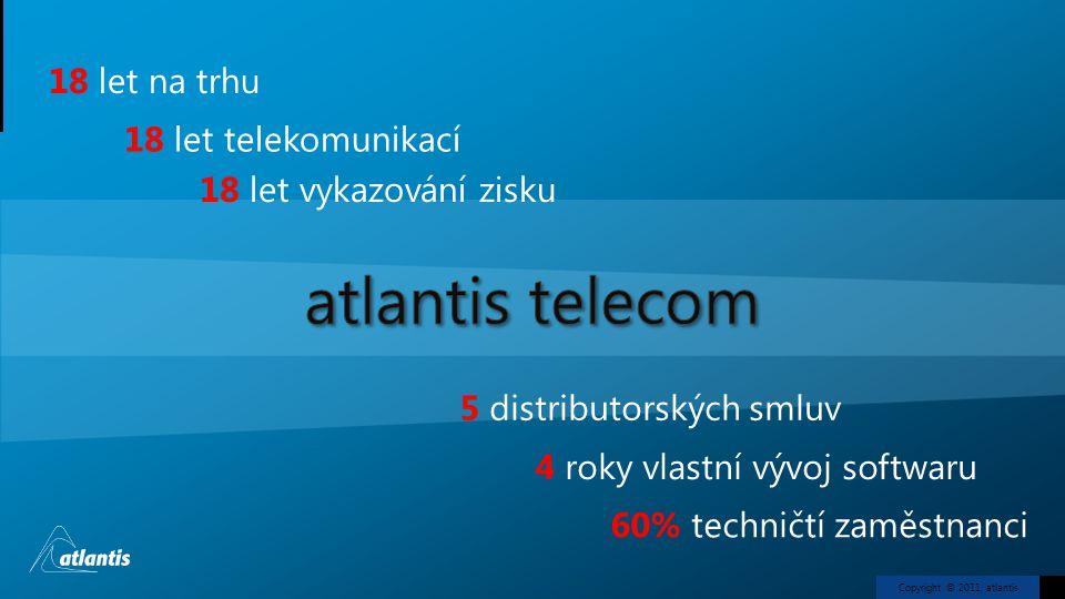 atlantis telecom 18 let na trhu 18 let telekomunikací