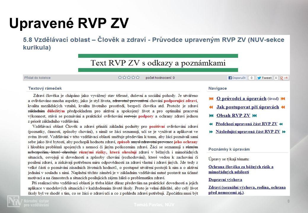 Upravené RVP ZV Tomáš Pavlas, NÚV