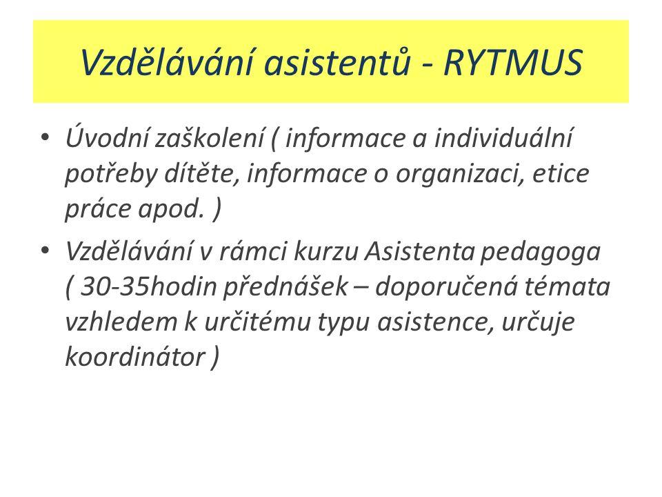 Vzdělávání asistentů - RYTMUS