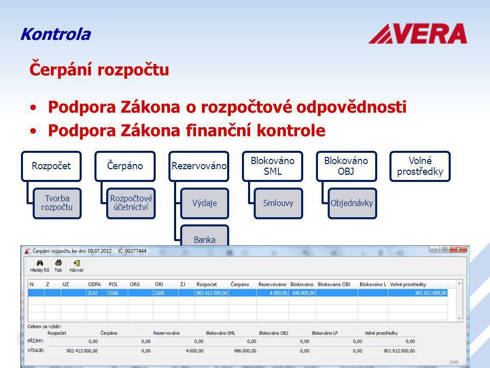 Rozpočtové účetnictví