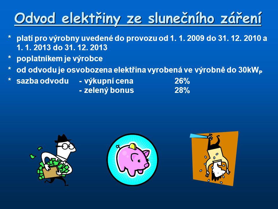 Odvod elektřiny ze slunečního záření