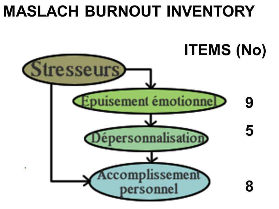 MASLACH BURNOUT INVENTORY