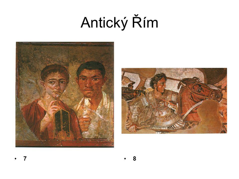 Antický Řím 7 8