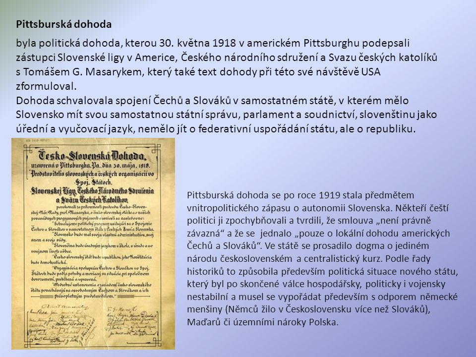 Pittsburská dohoda