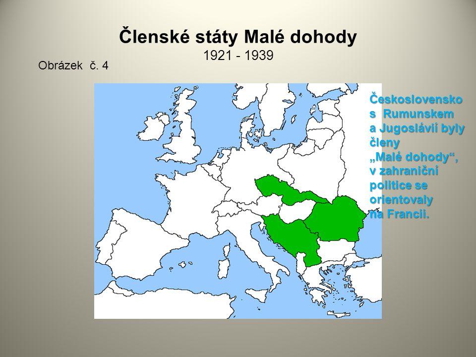 Členské státy Malé dohody 1921 - 1939