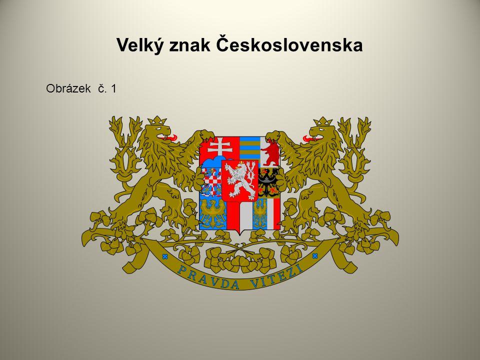 Velký znak Československa